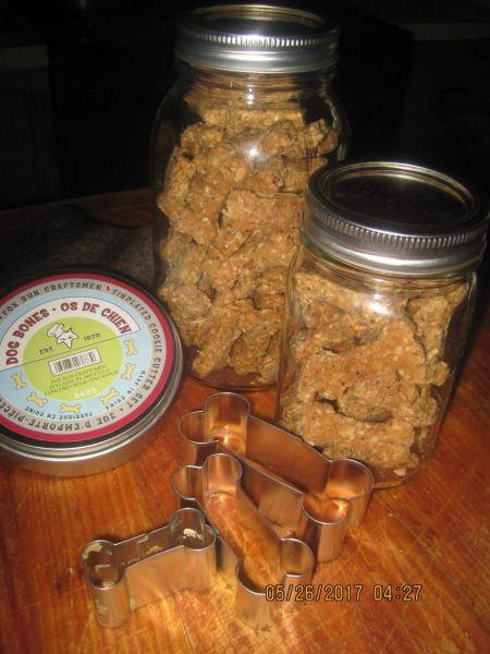 The Best Homemade Doggie Biscuits