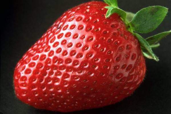 Strawberries make wonderful jam