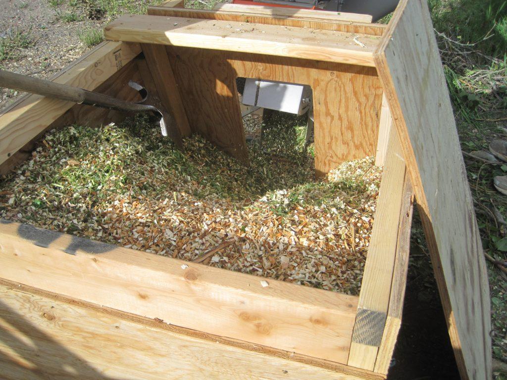Fresh Wood Chip Mulch