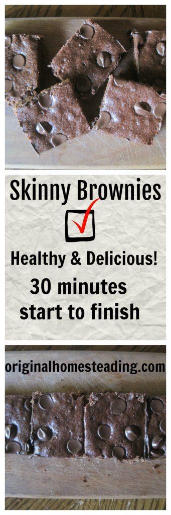 Healthy Organic Brownies