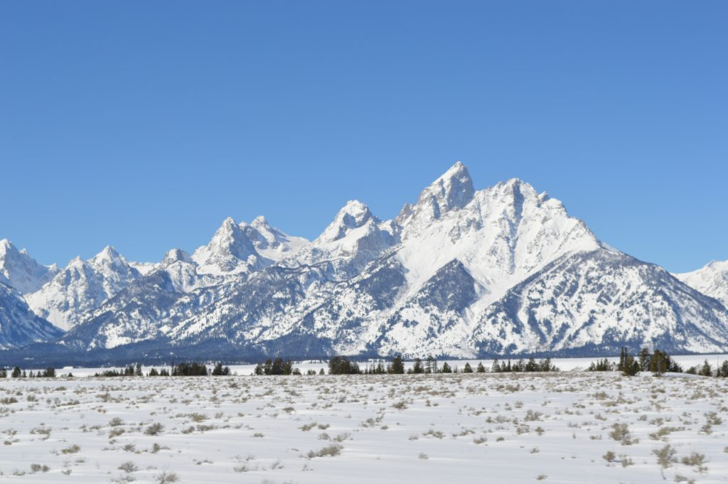 Grand Teton is located in Teton National Park in Wyoming