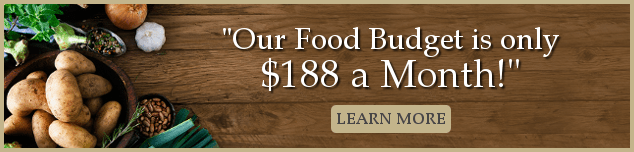 We eat an all organic diet for less than $200 a month by just following these simple steps! And we didn't have to give up anything! Seriously, this is the best system for saving money ever!