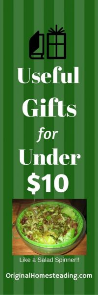 Great Gift Ideas Under 10 Dollars