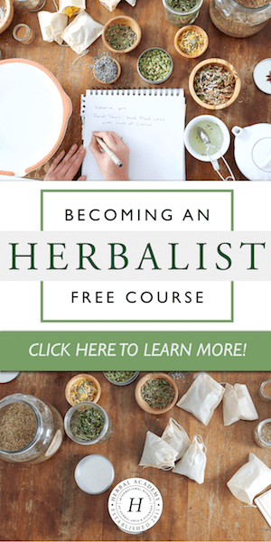 Sign up for the FREE Becoming an Herbalist Mini Course!
