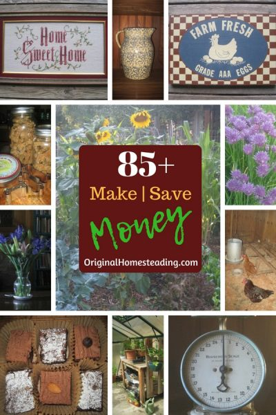 85+ Ways to Make and Save Money from Home.