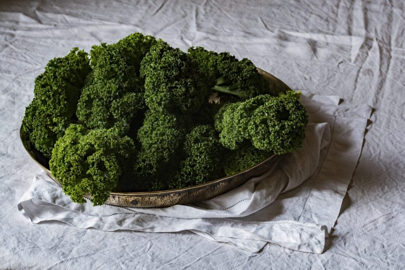 Freezing Kale in Small Individual Servings