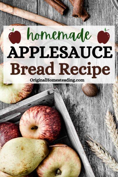 Applesauce Bread Recipe: Delicious Family Favorite promo image