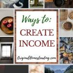 Creative Ways to Make Money on Your Homestead helps with ideas to earn additional income from home.