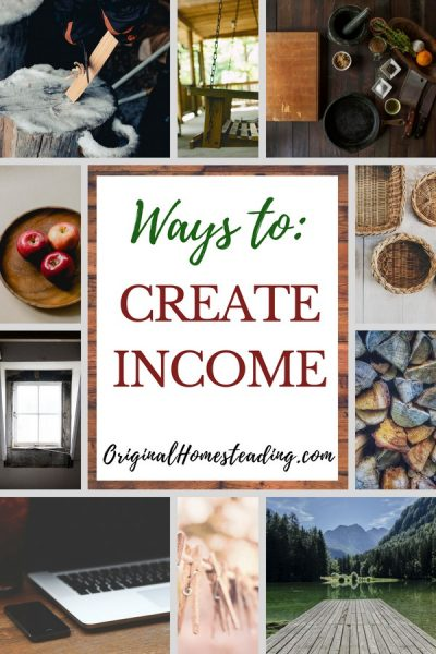 Creative Ways to make homestead money with  helpful ideas on how to earn additional income from home.
