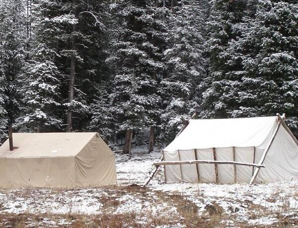 Hunting Camp Wall Tents