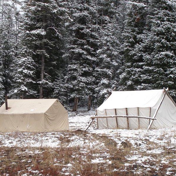 Hunting Camp Wall Tents
