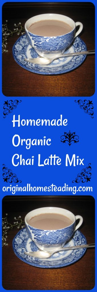 Chai Latte Mix 341x1024 - HOMEMADE ORGANIC CHAI LATTE MIX   Sweet & Spicy