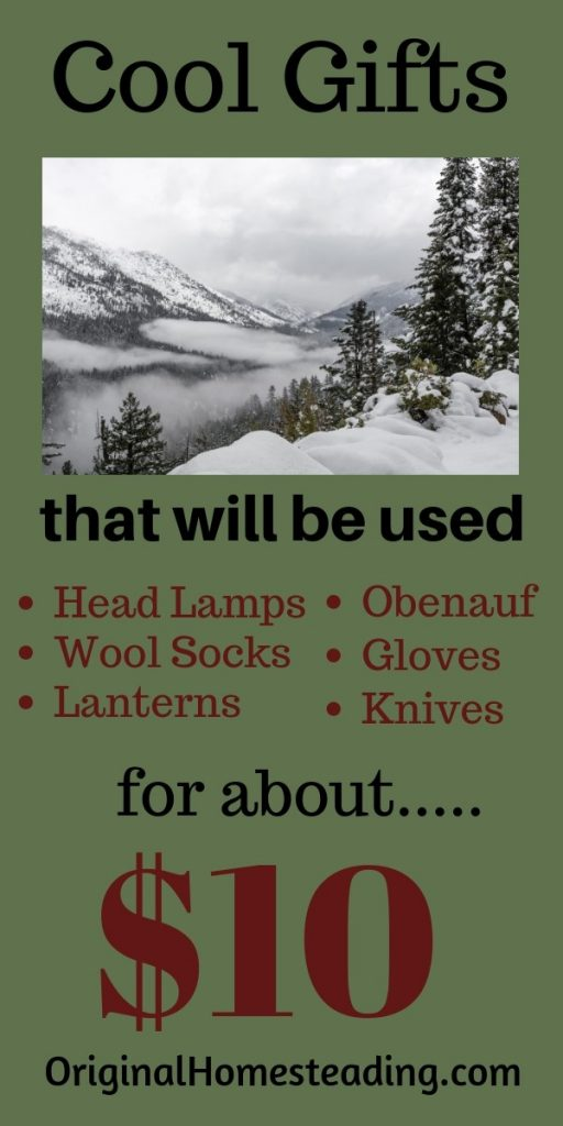 Here is a list of practical gifts that will be appreciated, used and enjoyed!