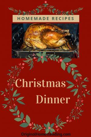 DIY Christmas Dinner