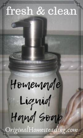DIY HOMEMADE LIQUID HAND SOAP:  From One Bar of Soap {Really!} promo image