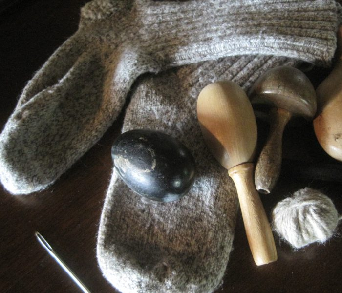 Learn about Darning Socks | How to Darn Wool Socks