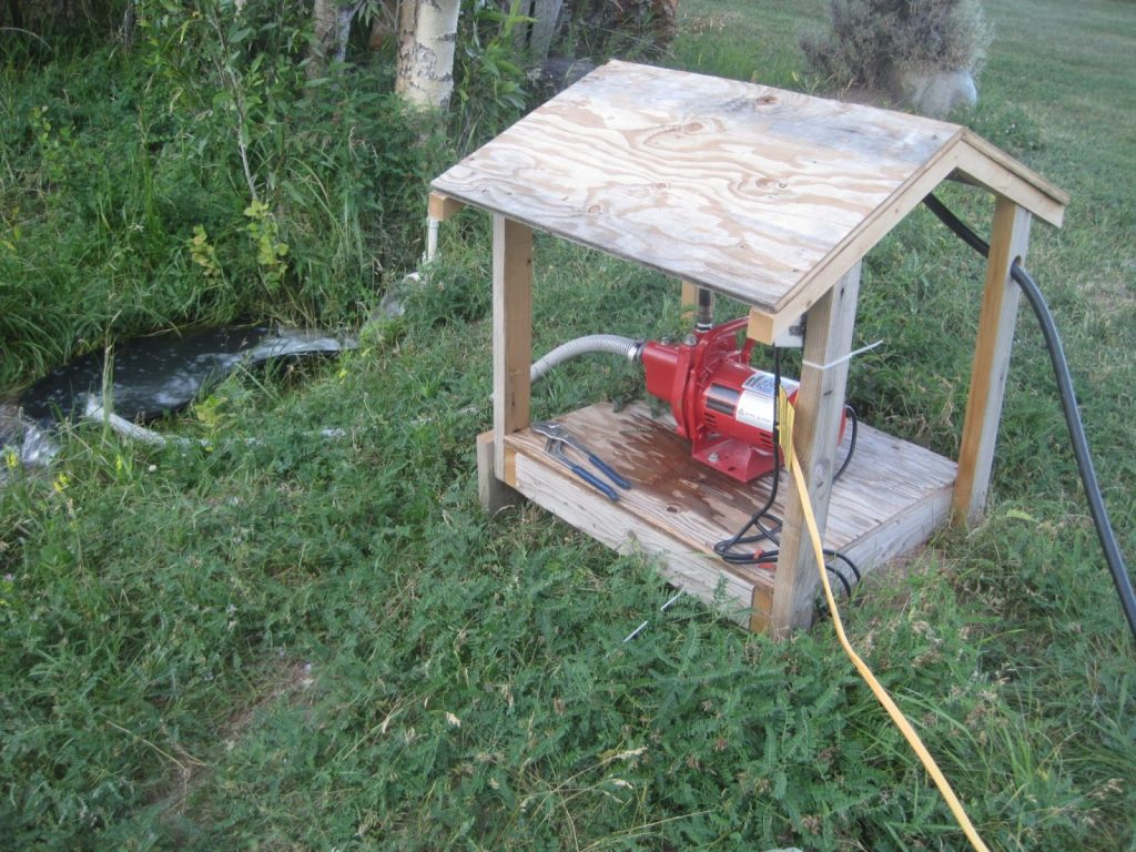 Electric Water Pump Set Up (10)