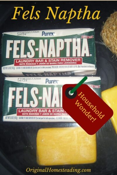 promo image for Fels Naptha Soap:  Here's What Is It & How to Use It!