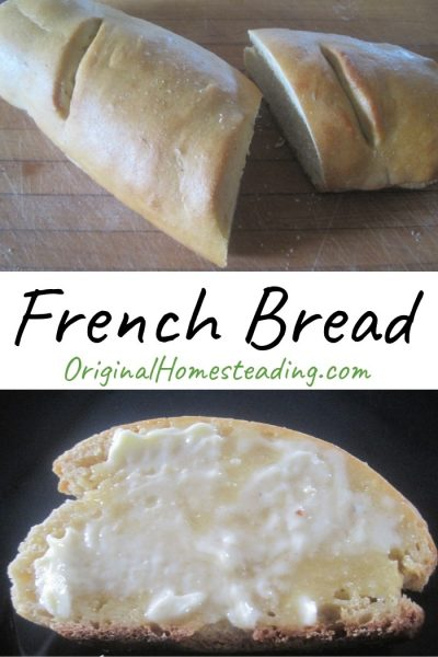 Basic French Bread is delicious and easy to make.