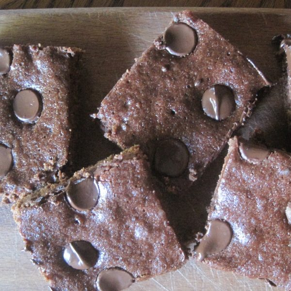 Healthy Skinny Organic Brownies: Lowfat