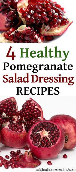 Healthy Pomegranate Dressing Recipes