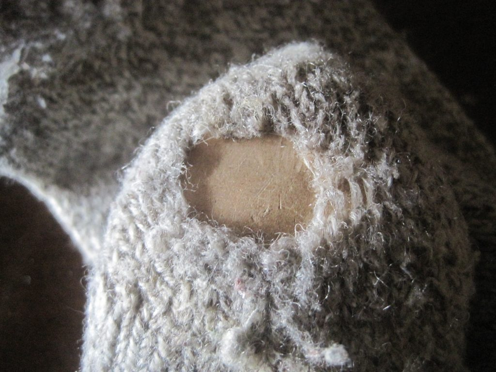 Having holes in your socks can be very frustrating but there is a vintage skill called darning that is very easy to learn for fixing these holes in your wool socks.