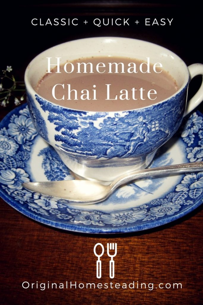 Homemade Organic Chai Latte Mix