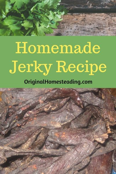 Homemade Jerky Recipe