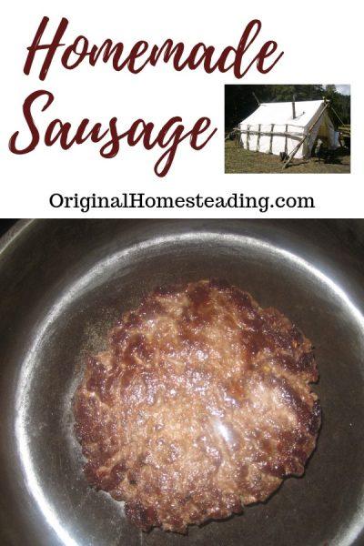 Homemade SausageRecipe