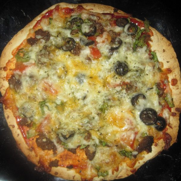 Easy Homemade Pizza Recipe   Stop Buying Pizza Store Bought
