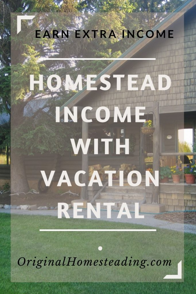 Earn Extra Homestead Income