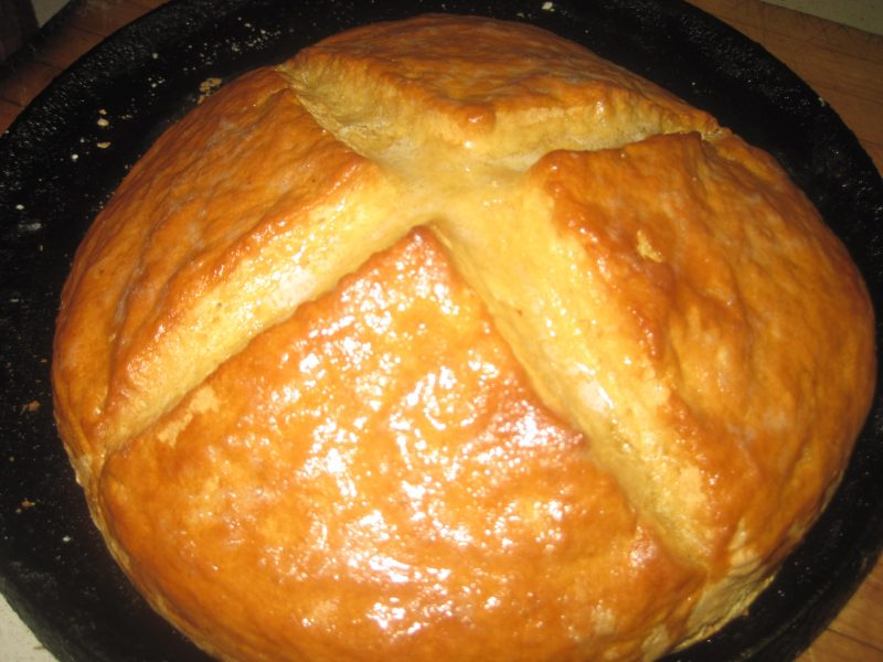 Fresh Hot Loaf of Bread