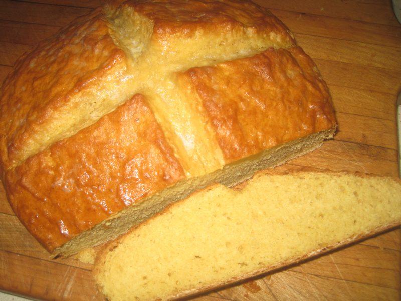 sliced loaf of flat bread