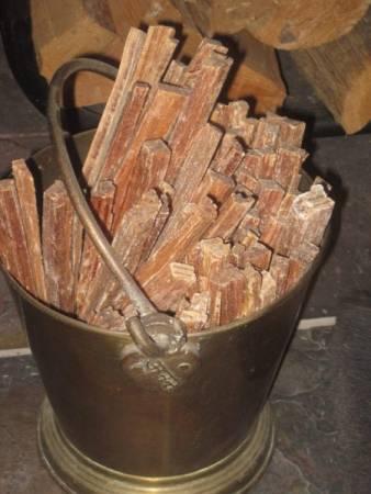 Fat Wood Fire Starter Sticks
