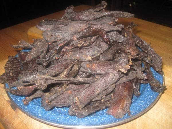 Delicious Wild Game Jerky