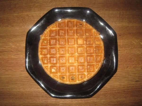 Homemade Einkorn Waffles