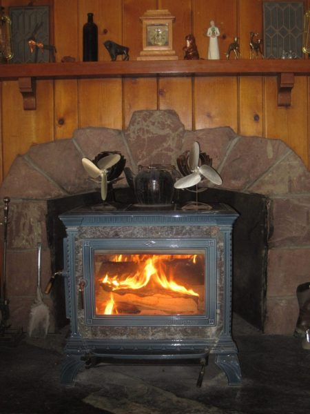 learn about heating with wood in your wood stove | original homesteading