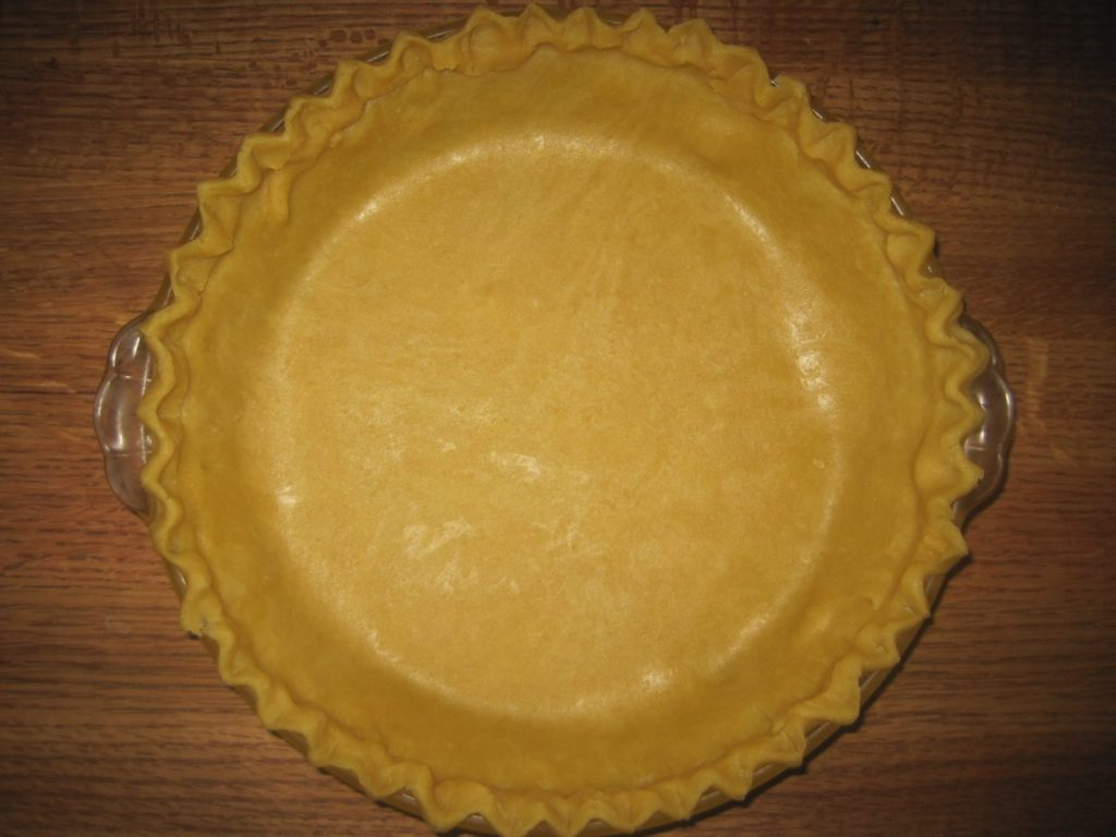 This is a photo from the Easy Pie Crust Recipe
