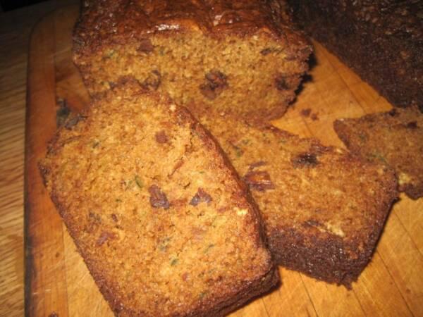 Garden to Table Zucchini Bread