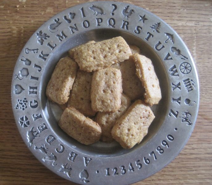 Einkorn Coconut Sugar Shortbread Cookies | Easy and Delicious