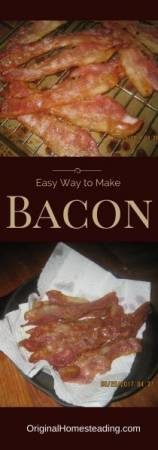 Easy Way to Make Bacon