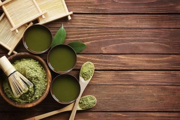 Green Tea Powder for Energizing Shake