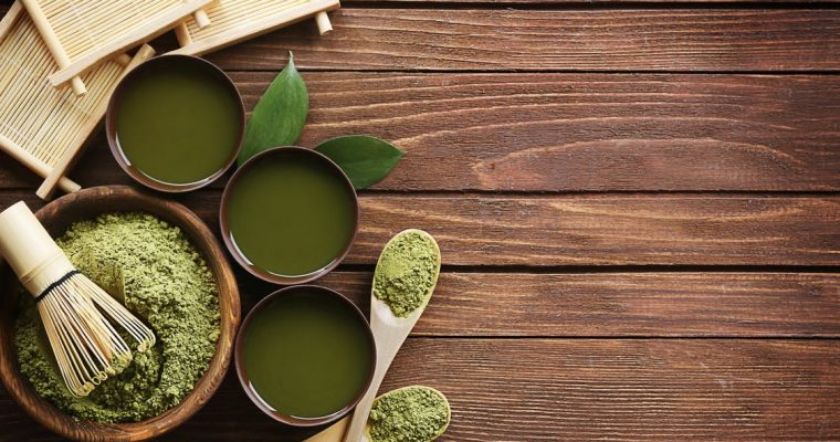 Green Tea Powder for Energizing Shake