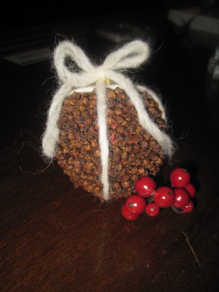 Pomander Ball with Ribbon