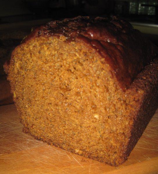 slice of wonderful moist quick bread.