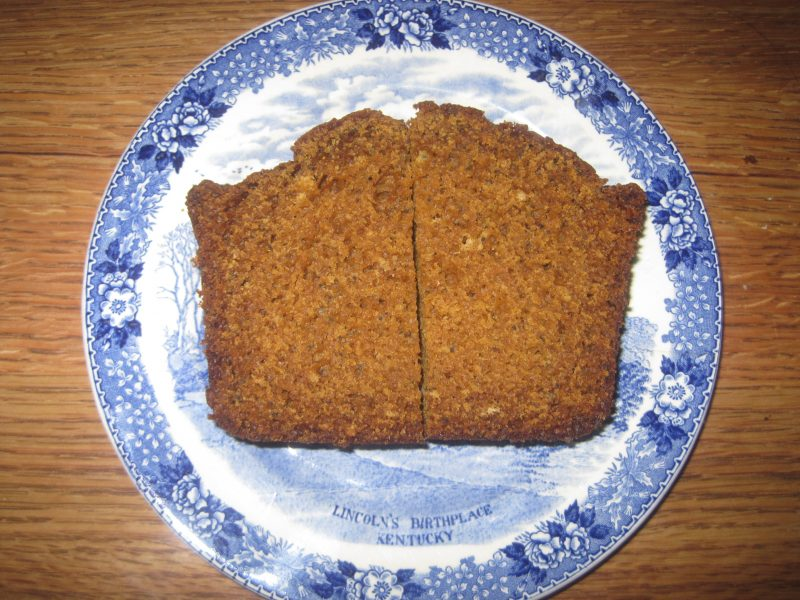 Quick bread recipe that is delicious as a snack or served as a quick bread at any meal.