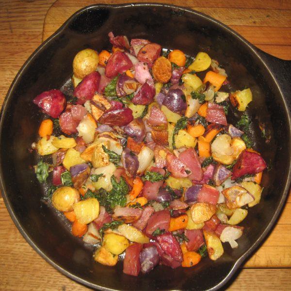 Roasted Potatoes-Vegetables