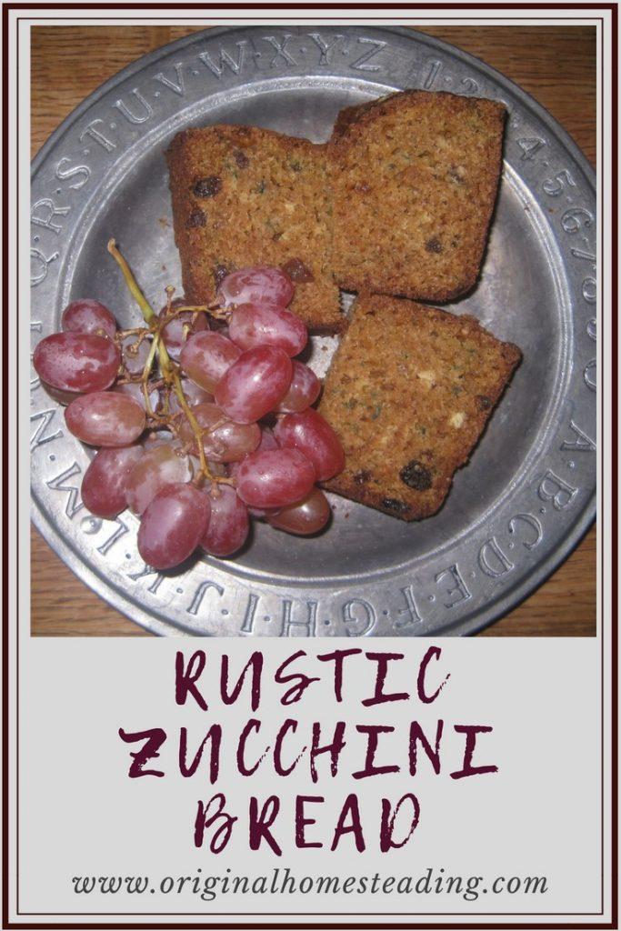 Rustic Zucchini Bread Recipe is the perfect healthy alternative for super nutritious and super delicious homemade Zucchini Bread.