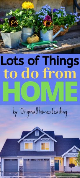 Things to do from HOME promo image
