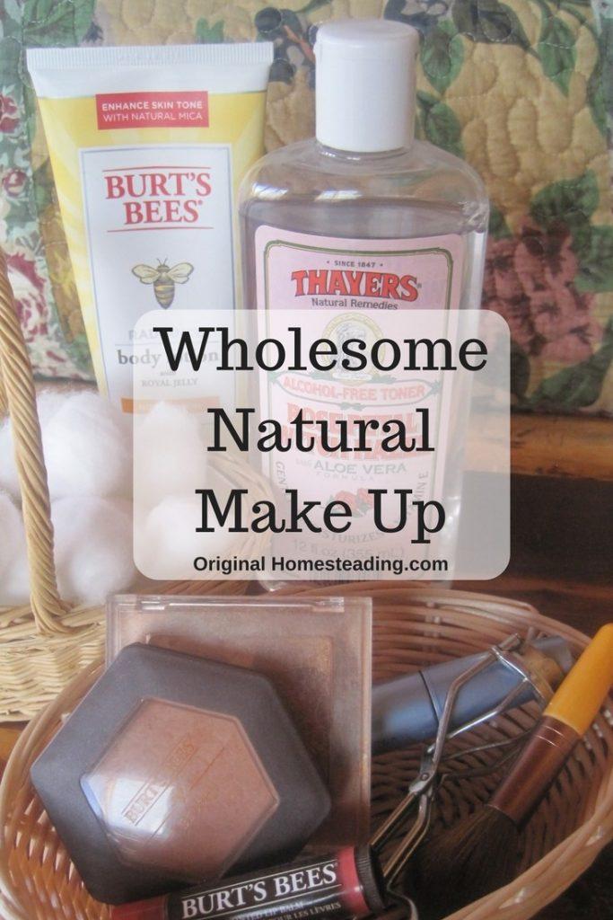 Wholesome Natural Makeup